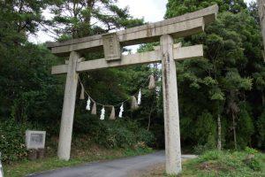 鳥居ー穴門山神社ー