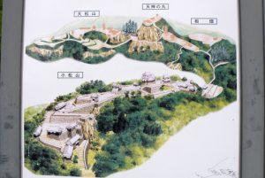 備中高松城全体図