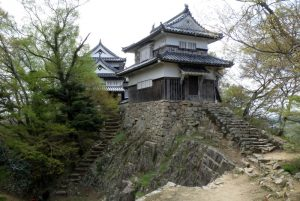 天守閣と二重櫓ー備中松山城ー
