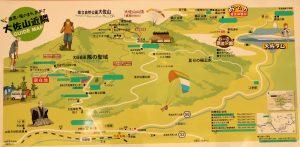 大佐山近隣ガイドマップ
