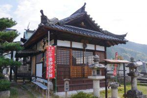 番神堂拝殿ー巨福寺ー