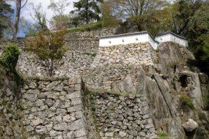 石垣ー備中松山城ー