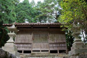 拝殿ー須佐之男神社ー