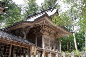 本殿ー天王八幡神社ー