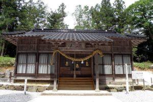 拝殿ー天王八幡神社ー