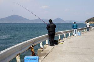 釣り風景ー真鍋島ー