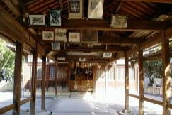 拝殿ー真鍋島八幡神社ー