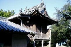 本殿ー真鍋島八幡神社ー