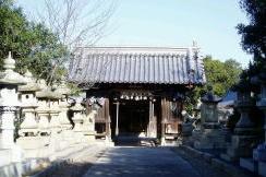 随神門ー真鍋島八幡神社ー