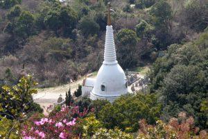 仏舎利塔ー開龍寺ー