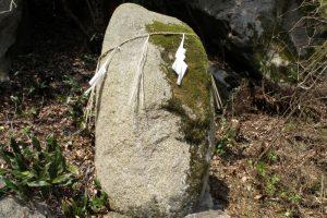 市郎兵衛の力石ー開龍寺ー