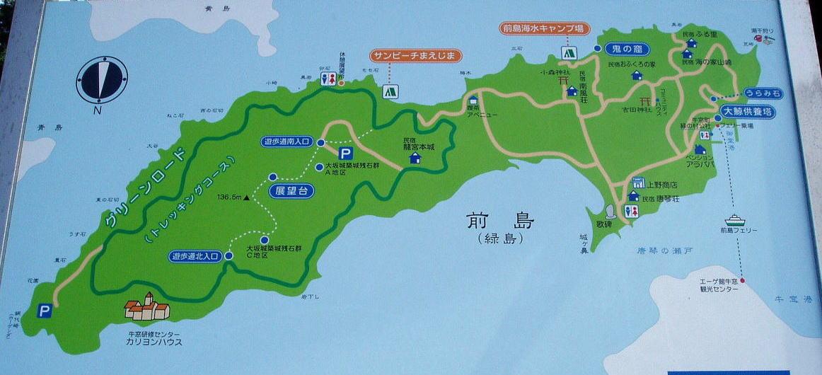 前島案内図