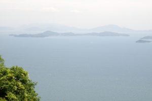 真鍋島ー御嶽山よりー
