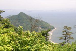 青佐山方面ー御嶽山よりー