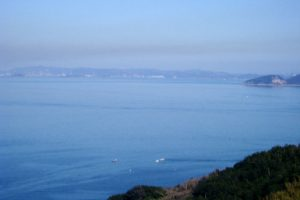 鷲羽山・水島方面ー北木島秋葉山よりー