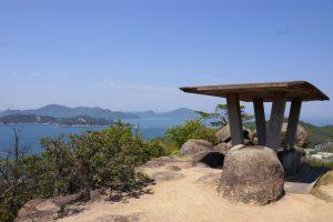 高山展望台ー白石島ハイキングコースー