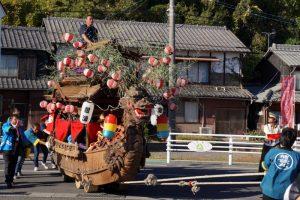紺浦地区ー牛窓秋祭りの船形だんじりー