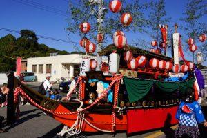 東町地区ー牛窓秋祭りの船形だんじりー