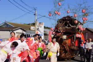 関地区ー牛窓秋祭りの船形だんじりー