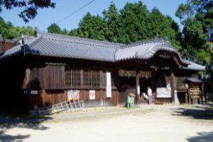 拝殿ー牛窓神社ー