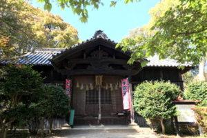 牛窓天神社 拝殿