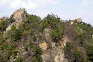 大玉岩ー白石島ハイキングコースー