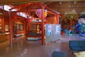 センター棟展示室ー岡山県自然保護センターー