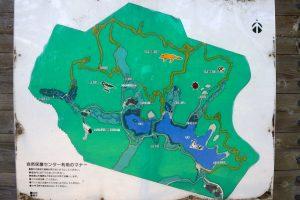 案内図ー岡山県自然保護センターー