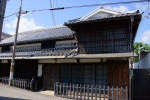西大寺観音院付近の町家