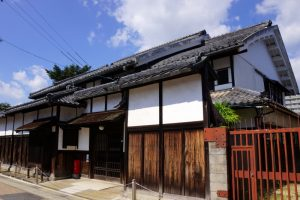 古い邸宅ー西大寺ー