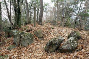 下の石門跡ー天神山城ー