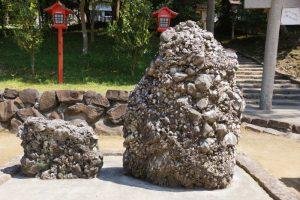 さざれ石ー和気神社ー