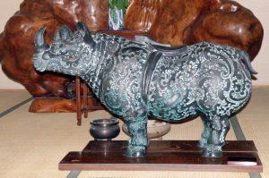 犀の像ー西大寺観音院ー