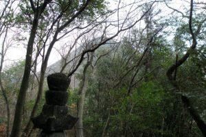 天神山城跡ー浦上与次郎の墓よりー