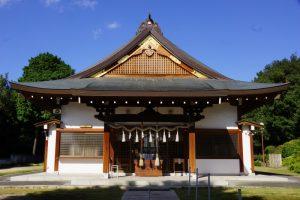 拝殿ー豊原北島神社ー