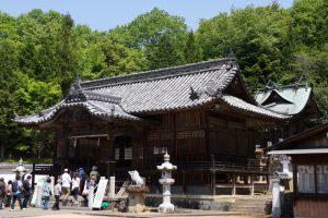 拝殿・本殿ー和気神社ー