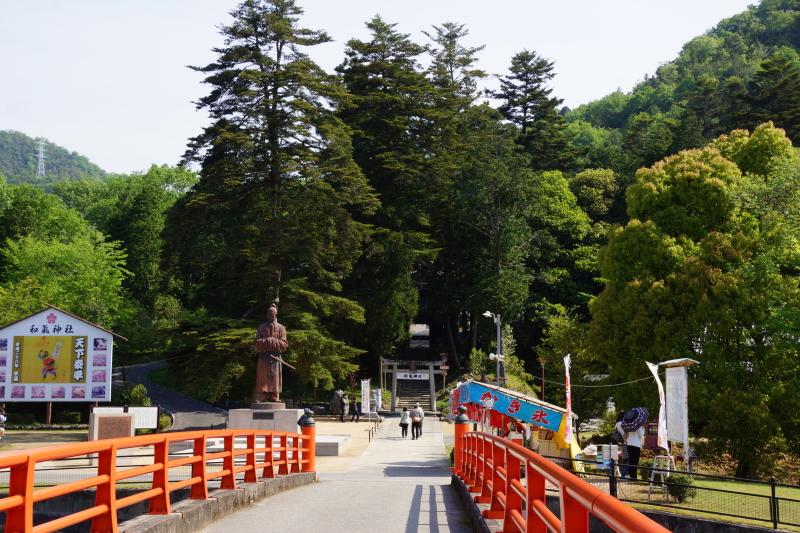 参道ー和気神社ー