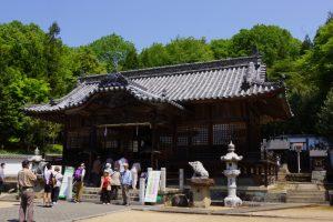 拝殿ー和気神社ー