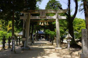 鳥居ー由加神社ー