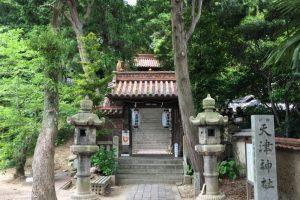 神門ー天津神社ー