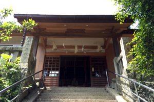 拝殿ー天津神社ー