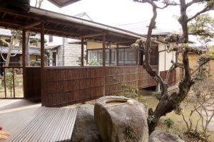 茶室への渡り廊下ー仲崎邸ー