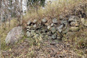 北曽根城跡石垣