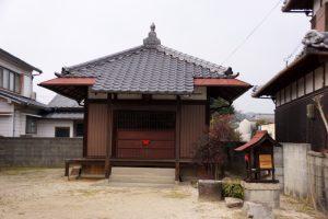 岡隆山薬王寺跡