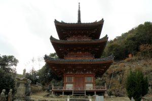 三重塔ー真光寺ー