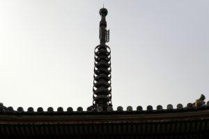 相輪ー真光寺三重塔ー