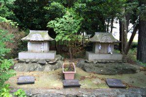 岩城宮・荒神社ー天王社刀剣の森ー