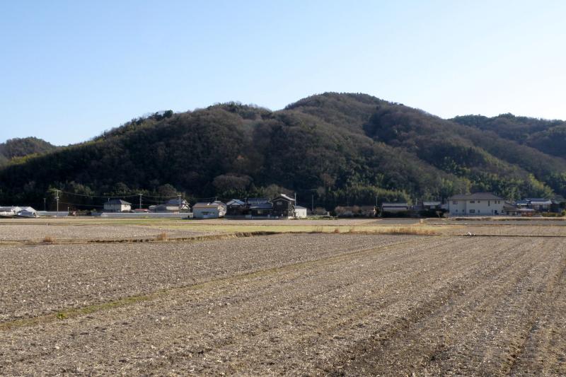 高取山(向こう側)ー高取山城跡ー