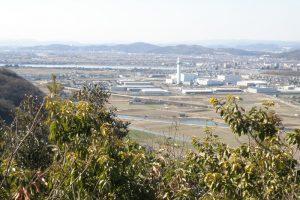 東部クリーンセンター方面ー高取山城跡よりー