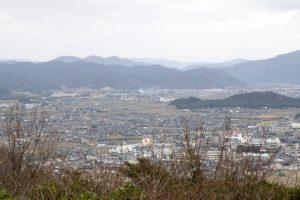 邑久町中央部方面ー大賀島寺よりー